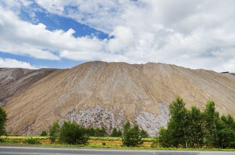 Piękny przemysłowy krajobraz zdjęcie royalty free