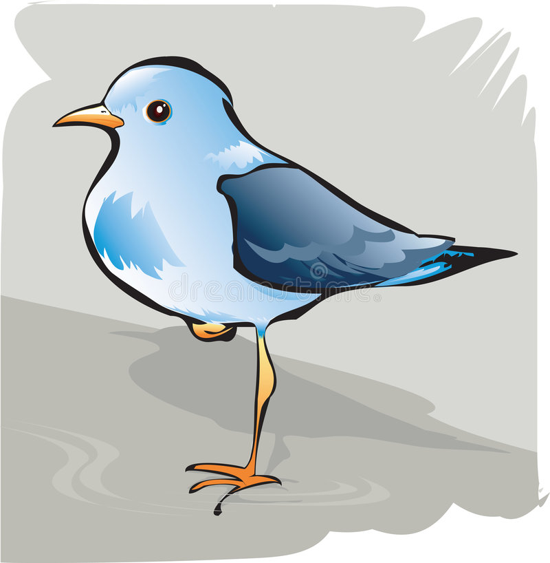 Piękny ptak ilustracja wektor