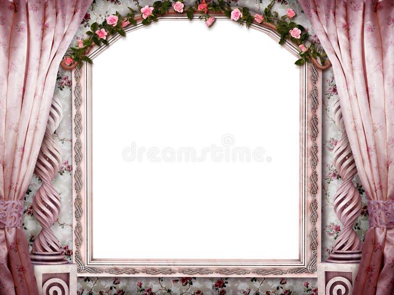 Piękny różowy pokój zdjęcia stock