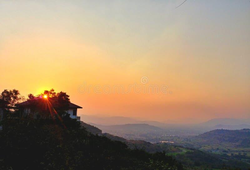 piękny słońce obrazy stock