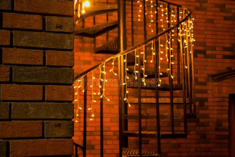 Piękny schody fotografia stock