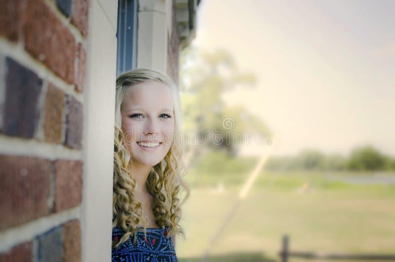 Piękny senior zdjęcia stock