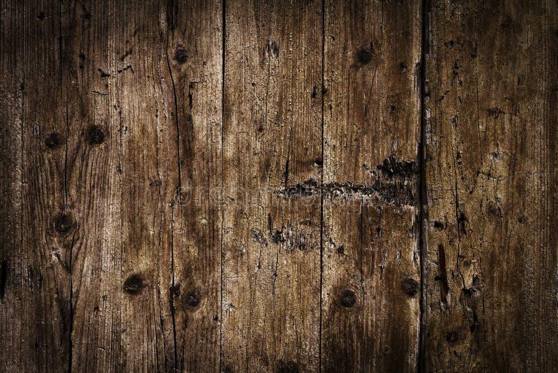 Piękny Stary Antykwarski Ciemny Drewniany tekstury powierzchni tła Bac obrazy stock