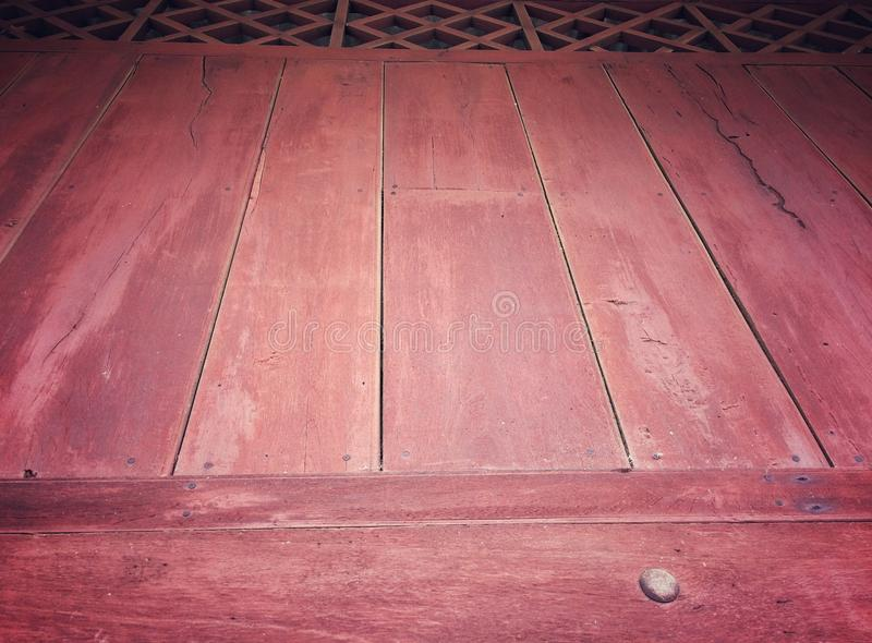 Piękny stary drewniany ścienny tekstury tło fotografia royalty free