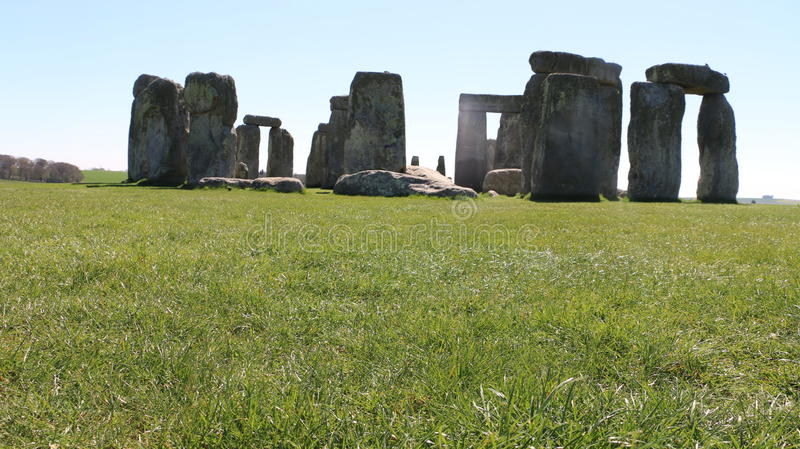 Piękny Stonehenge! fotografia royalty free