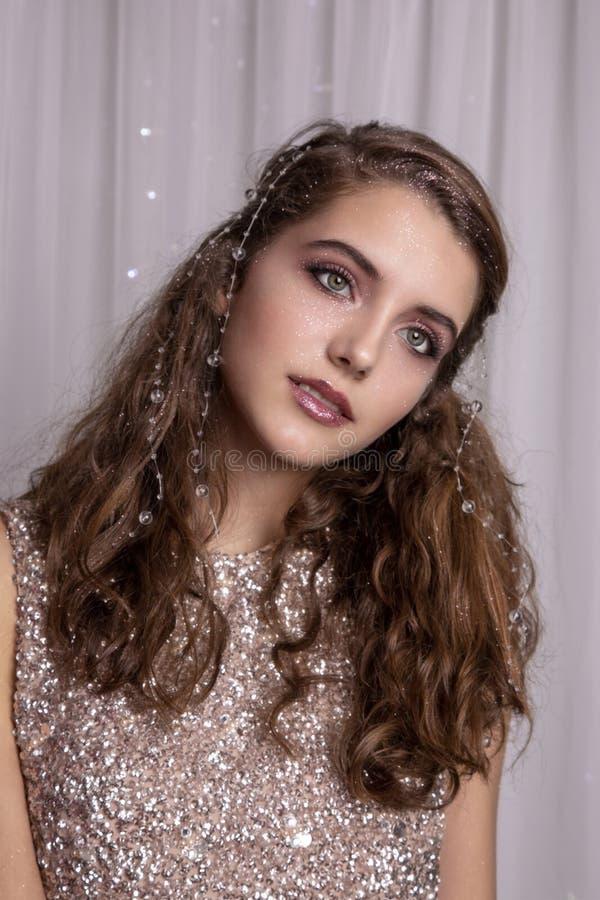 Piękny strzał nastolatki obrazy royalty free