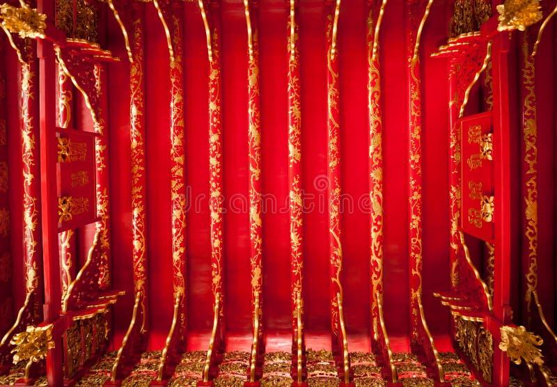 Piękny sufit Phra Thinang Wehart Chamrun obrazy stock