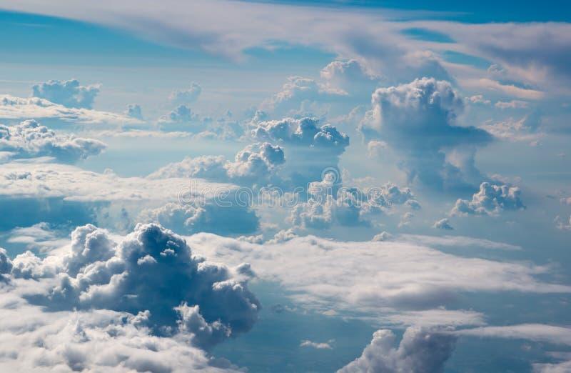 Piękny surrealistyczny skyscape zdjęcie royalty free