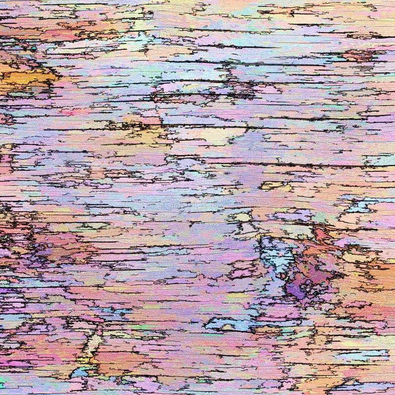Piękny szczęśliwy abstrakcjonistyczny tło z cieniami błękitny, żółtymi, zdjęcia royalty free