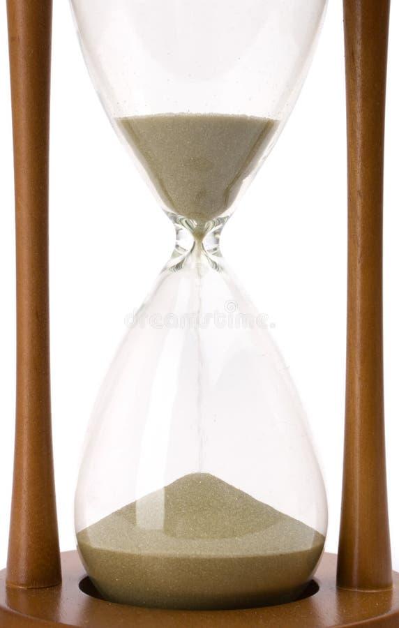 piękny szklankę piasku obrazy stock
