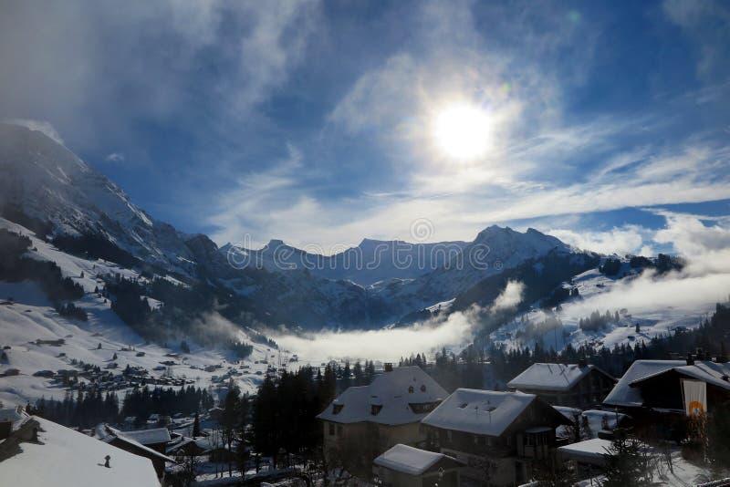 piękny Szwajcarii zdjęcie stock