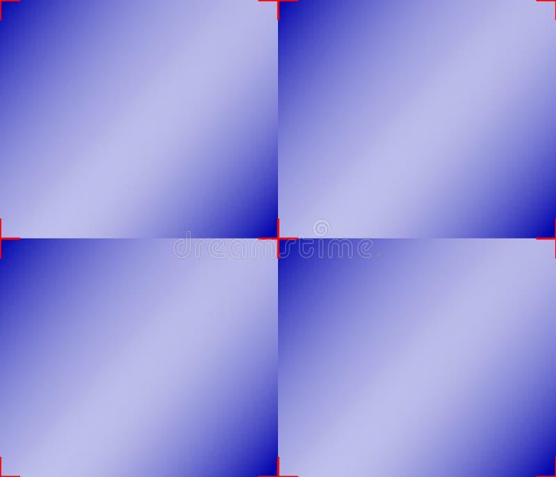 Piękny tło geometryczni kształty - płytki bladzi purpurowi kwadraty obrazy royalty free