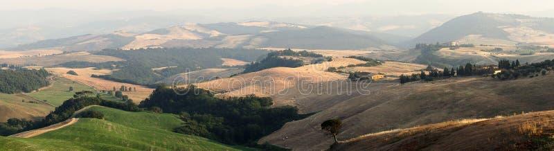piękny Toskanii zdjęcie royalty free