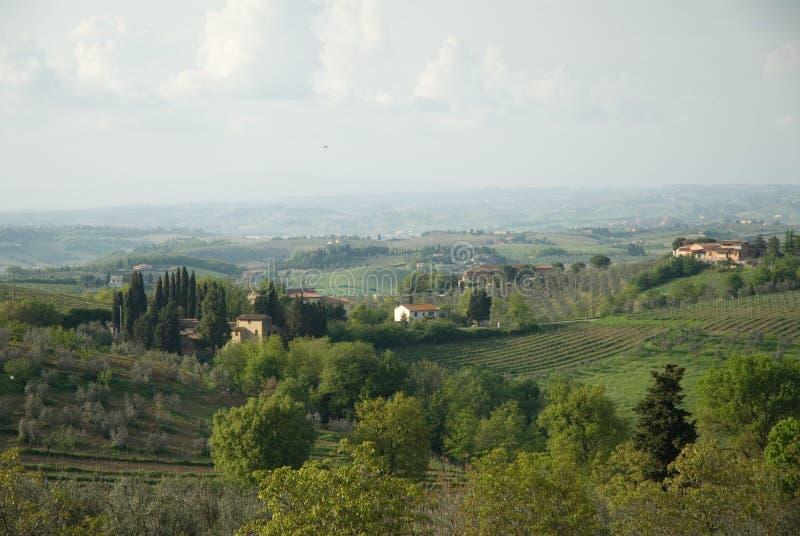 piękny Toskanii zdjęcia stock