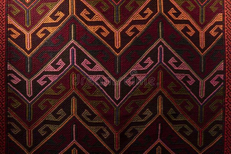 Piękny ukierunkowywa dywan na Uroczystym Bazar obrazy royalty free