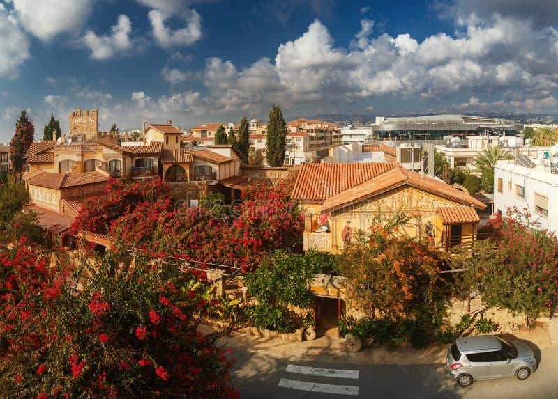 Piękny widok Paphos obrazy royalty free