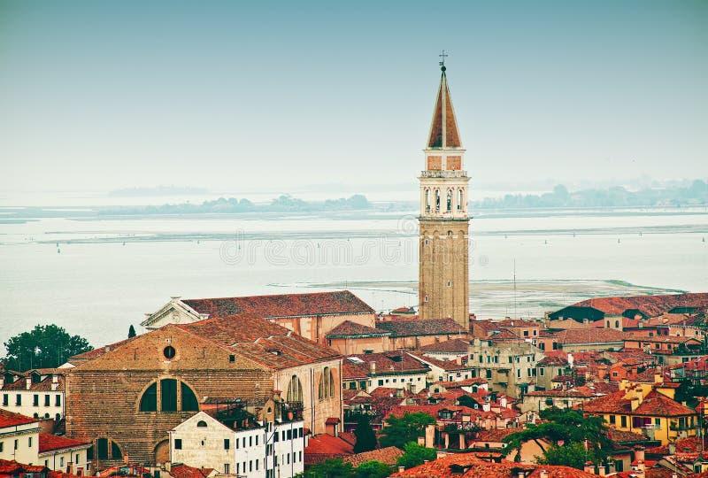 Piękny widok Wenecja zdjęcia stock