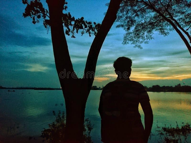 piękny wieczór zdjęcia stock