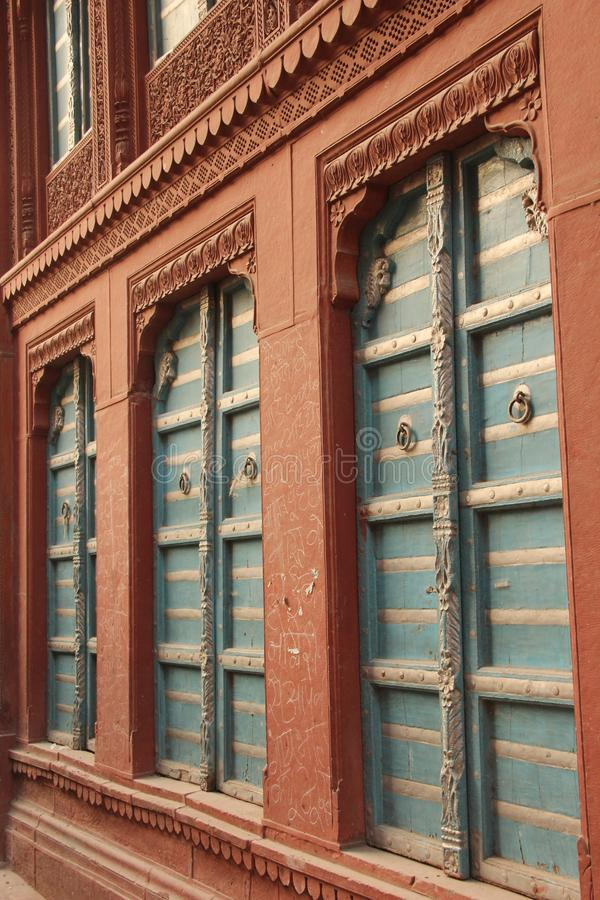 Piękny windon w Bikaner obrazy stock