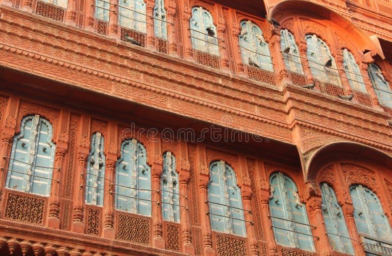 Piękny windon w Bikaner fotografia stock