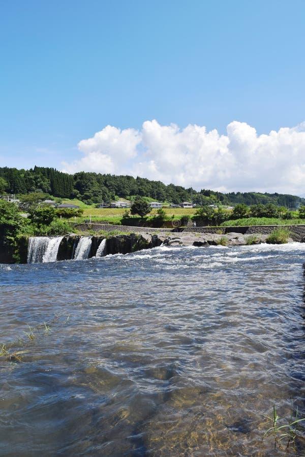 piękny wizerunku natury rzeki lato fotografia royalty free