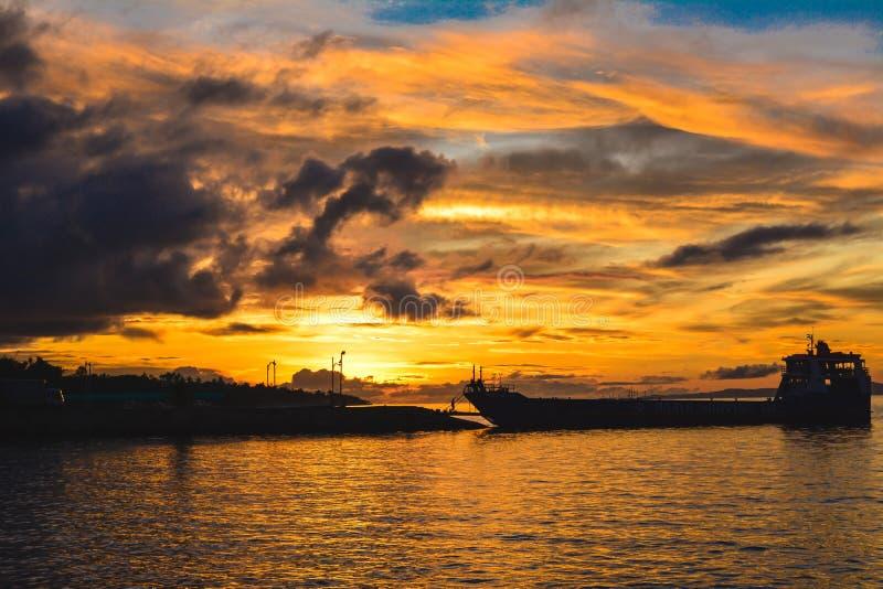 piękny wschód słońca obrazy stock