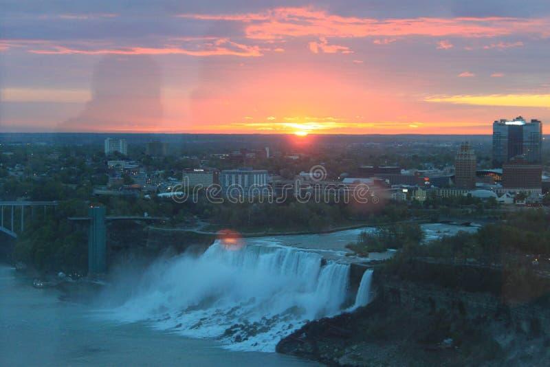 Piękny wschodu słońca obrazek obrazy stock