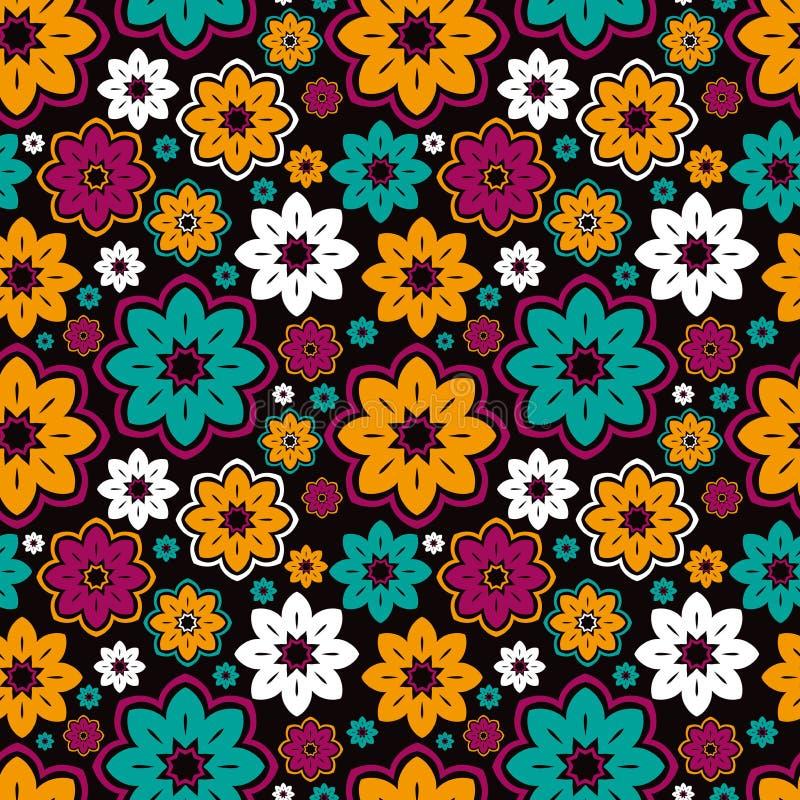 piękny wzór abstrakcyjne koronka Kwiat kurendy tło ilustracja wektor