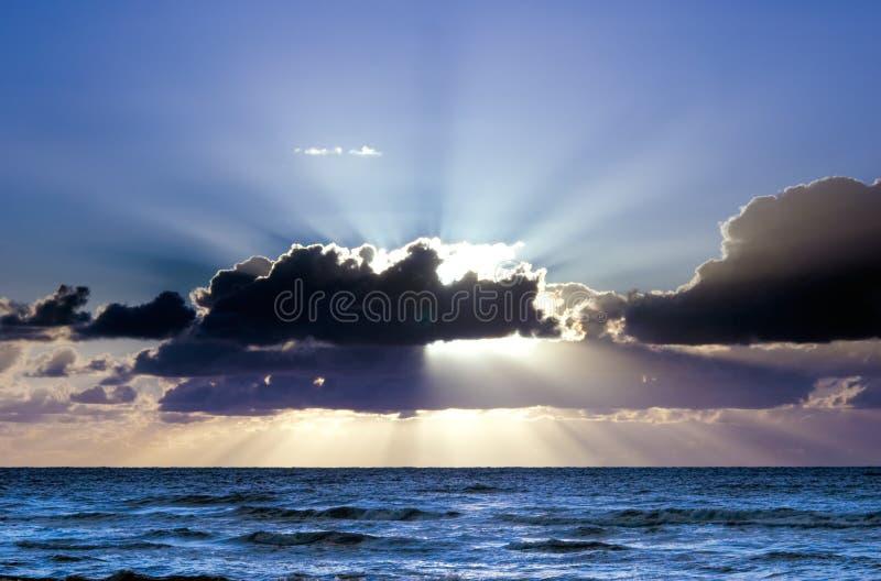 piękny zachód słońca zdjęcia stock