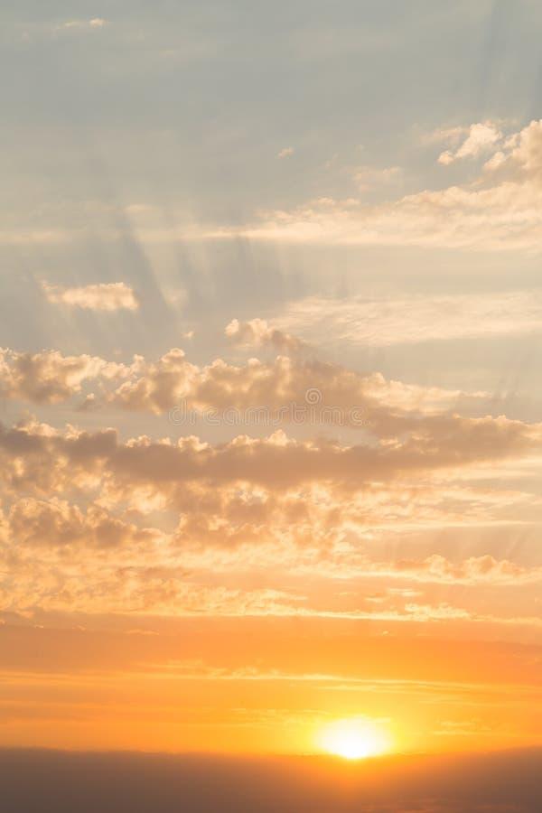 piękny zachód słońca morza zdjęcia royalty free