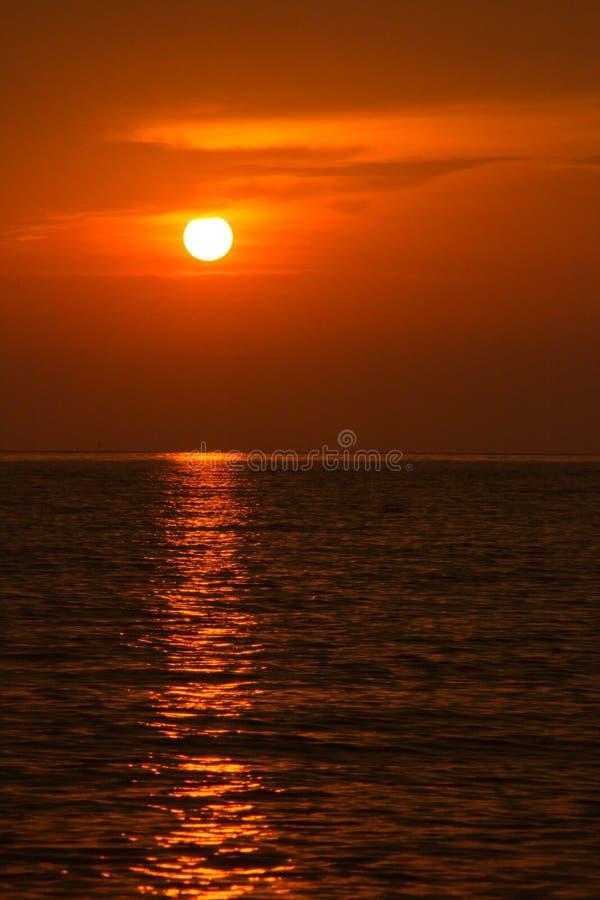 piękny zachód słońca w tle obrazy stock