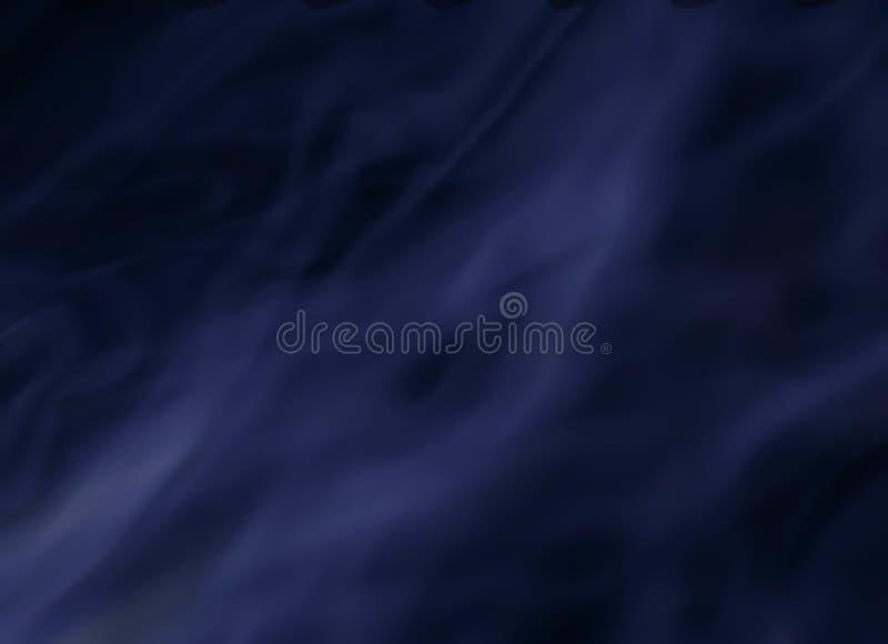 Piękny zamazany tło, dym royalty ilustracja