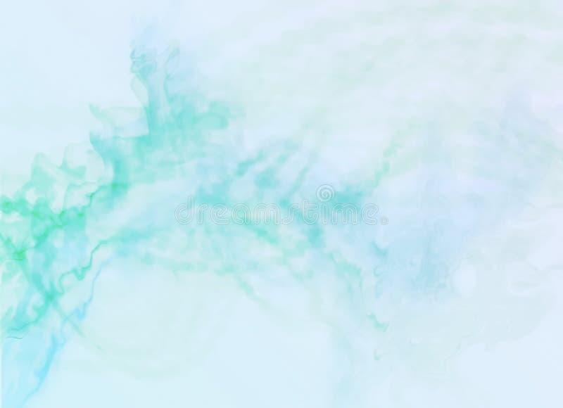 Piękny zamazany tło, dym ilustracji