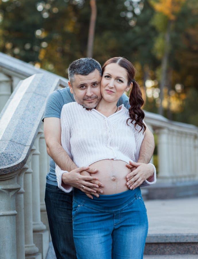 pięknych par młodych zdjęcie royalty free