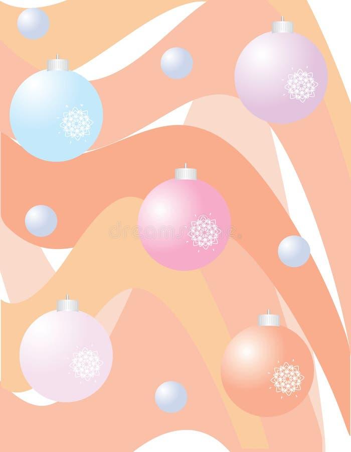 piłek bożych narodzeń koloru powitanie obrazy royalty free
