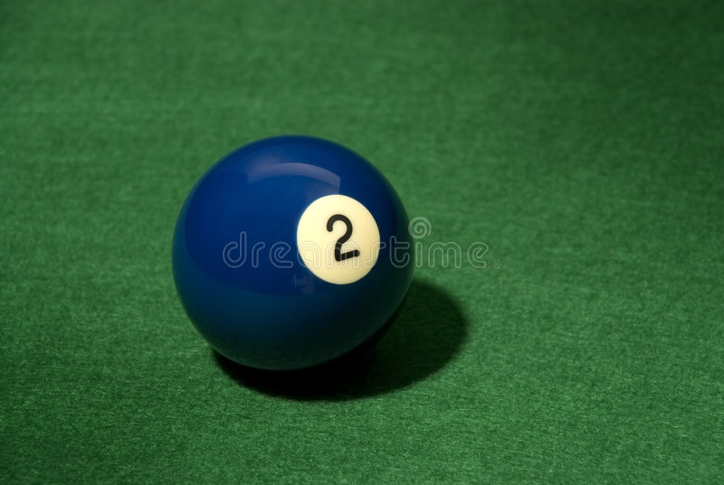 piłka 2 basen obrazy stock