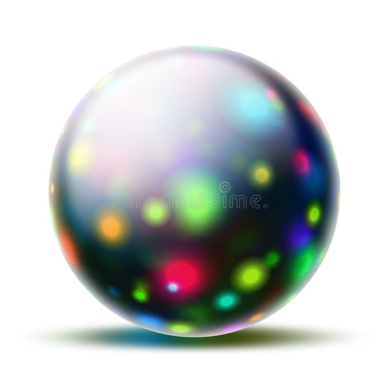 piłka abstrakcyjna ilustracji
