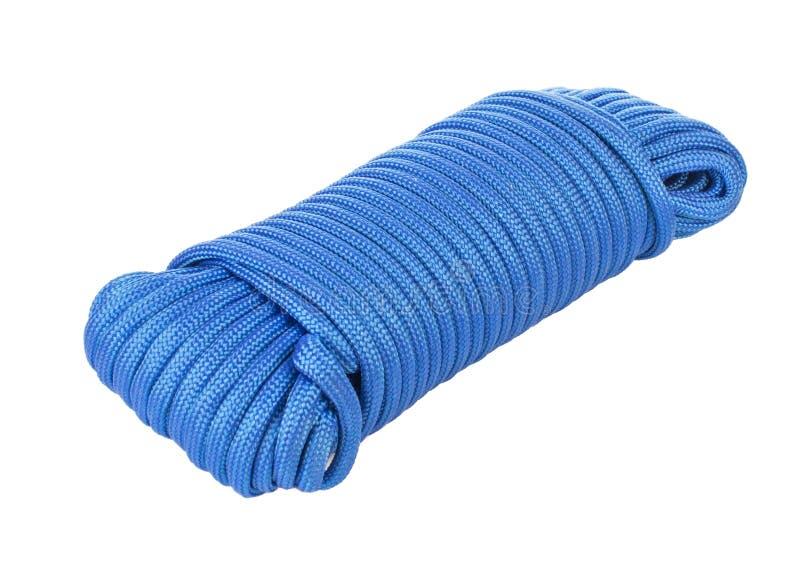 Piłka błękitny paracord sznurek zdjęcia stock