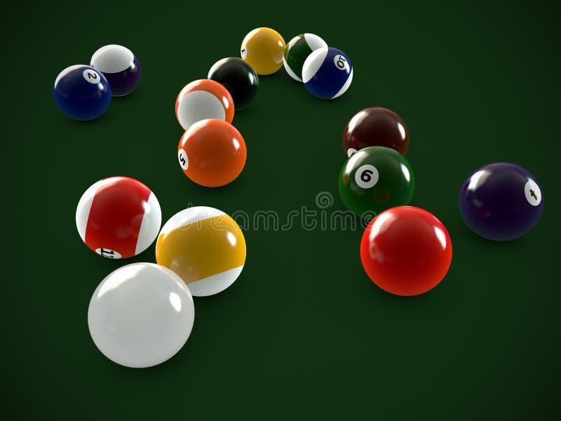 piłka basen ilustracja wektor