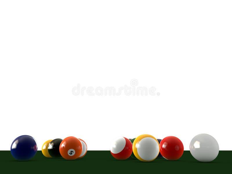 piłka basen royalty ilustracja