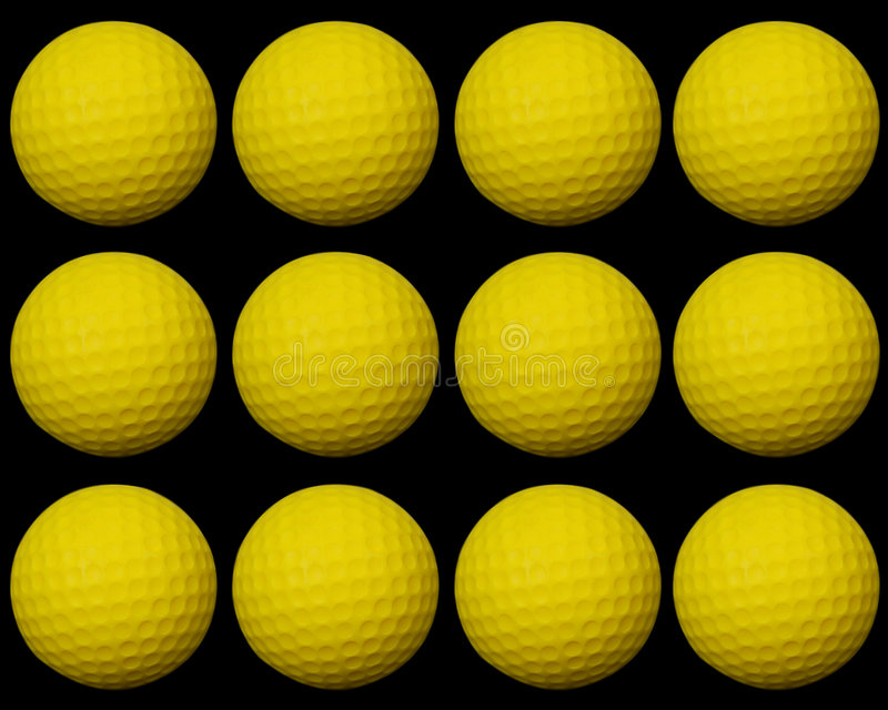 piłka do golfa group2 ilustracji