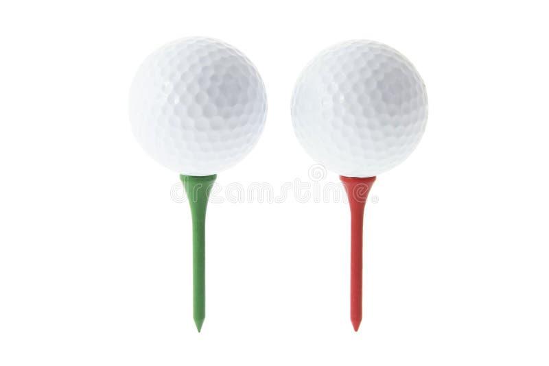 piłka do golfa trójniki zdjęcie stock