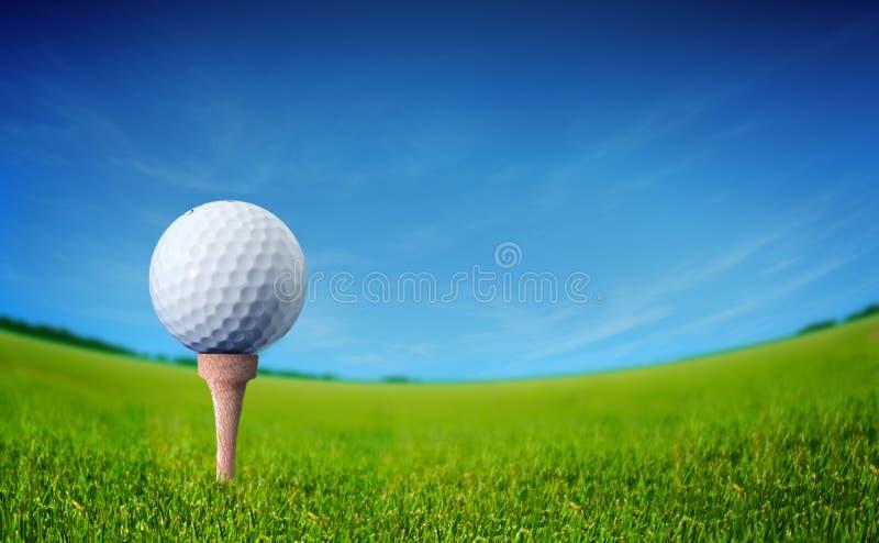 piłka golf obraz stock
