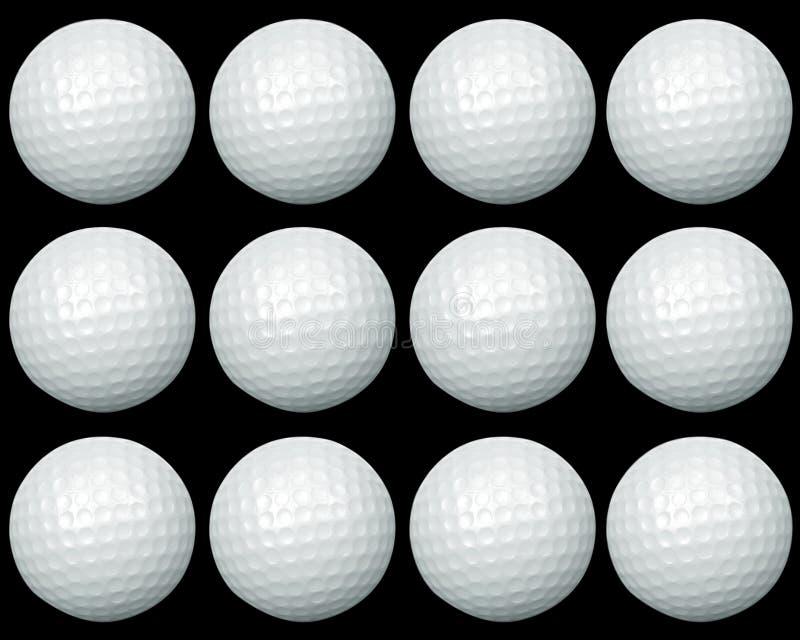 piłka golfa grupy obraz stock