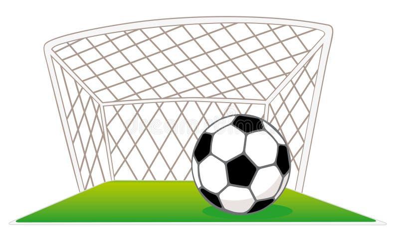 piłka jest zabronione piłkę ilustracji
