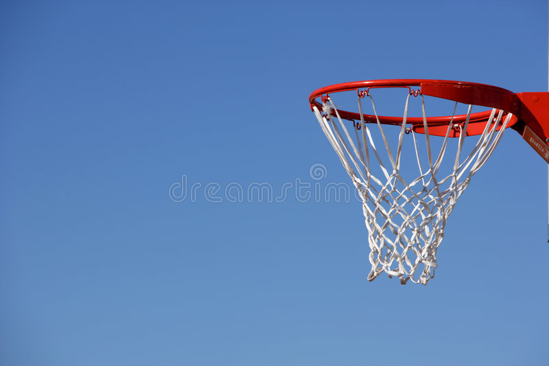 piłka koszykowy hoop obrazy royalty free