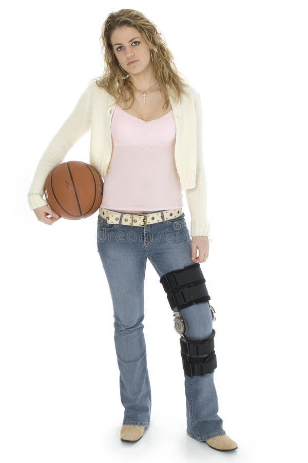piłka koszykowy student obrazy stock