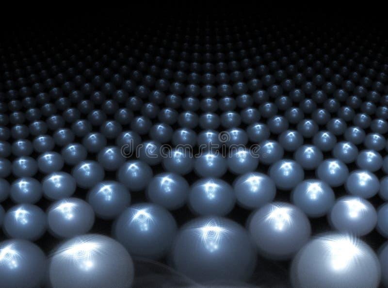 piłka metalu ilustracji