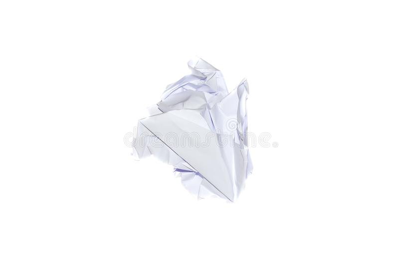 piłka miący papieru zdjęcie stock