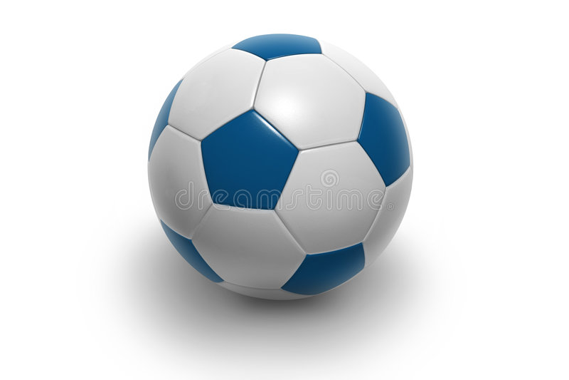 Piłka Nożna Ball6 Zdjęcie Stock